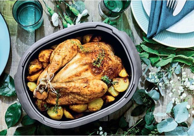 Microwave 40 Minute Roast Chicken