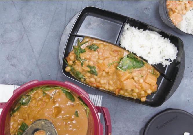 Chickpea Pumpkin Curry
