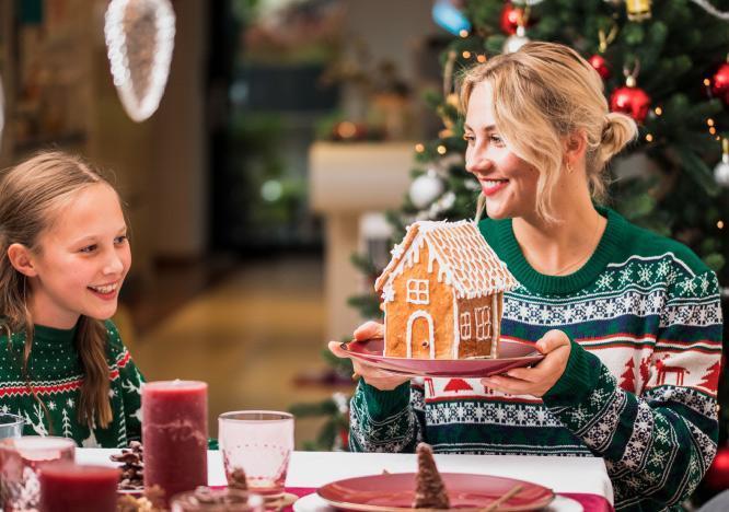 Edible Christmas gifts and décor ideas