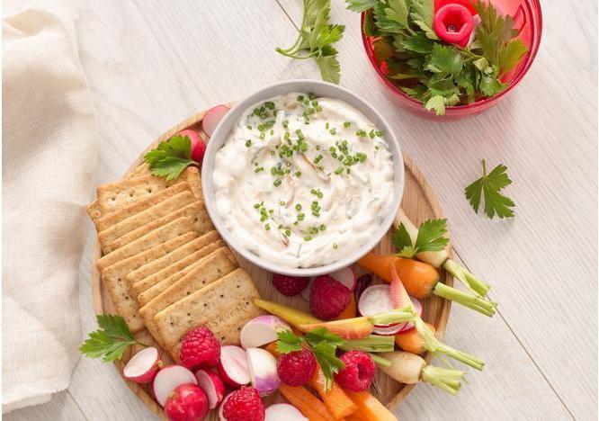 Onion, Garlic and Herb Dip