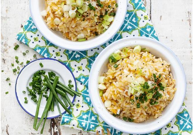 Spicy Vegetables with Rice