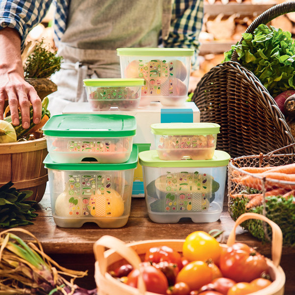 Buy foods with less packaging